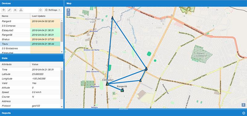 Plataforma para GPS gratis Monterrey y Mexico